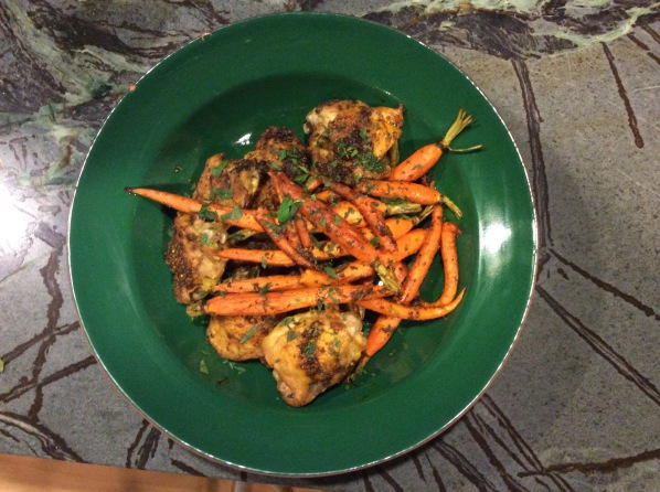 Slow Baked Chicken with Carrots