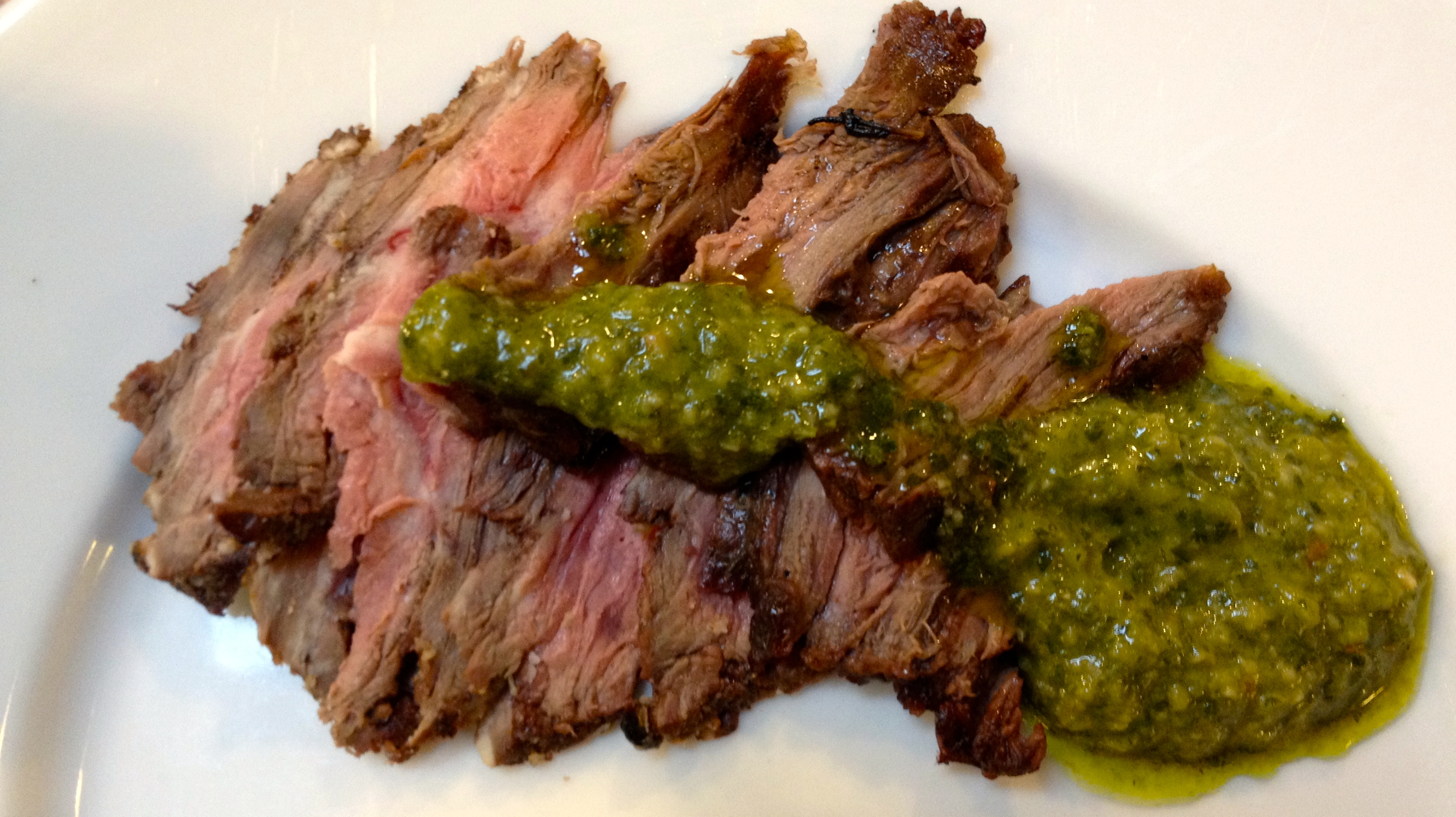 December in the kitchen – Skirt steak with chimichurri sauce ...