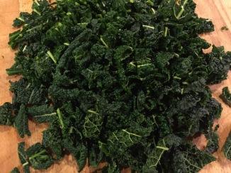 Chopped Tuscan Kale