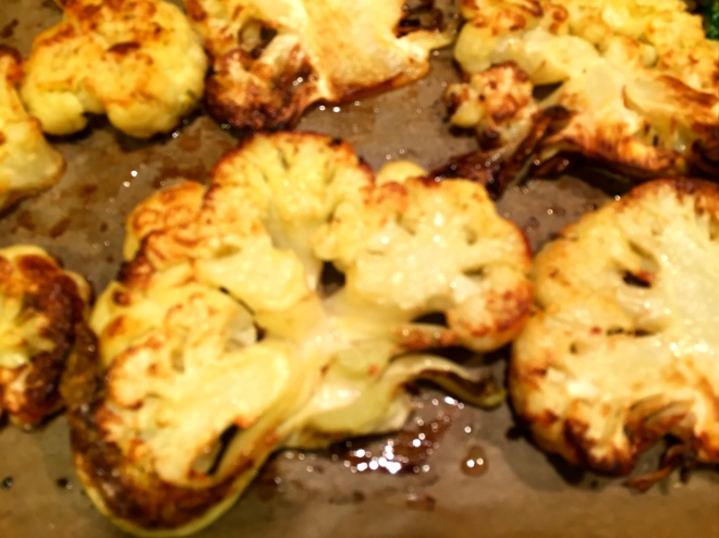 Roast Cauliflower Steaks