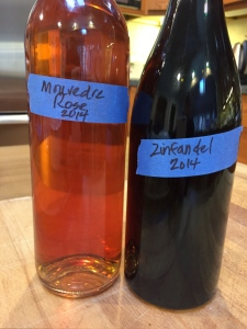 Mouvedre Rose and Zinfandel