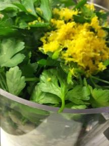 Spicy Lemon Salsa Verde