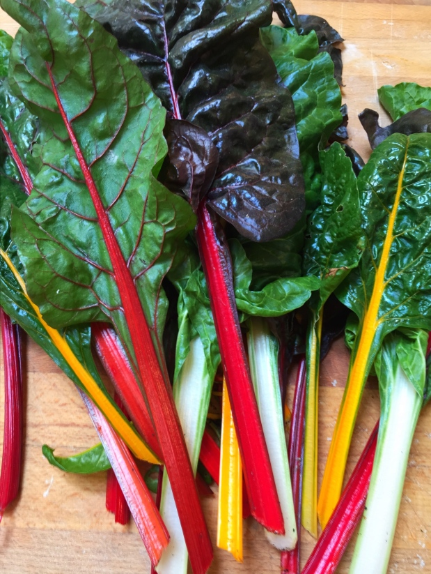 March in the Kitchen – Swiss Chard with Pickled Stems