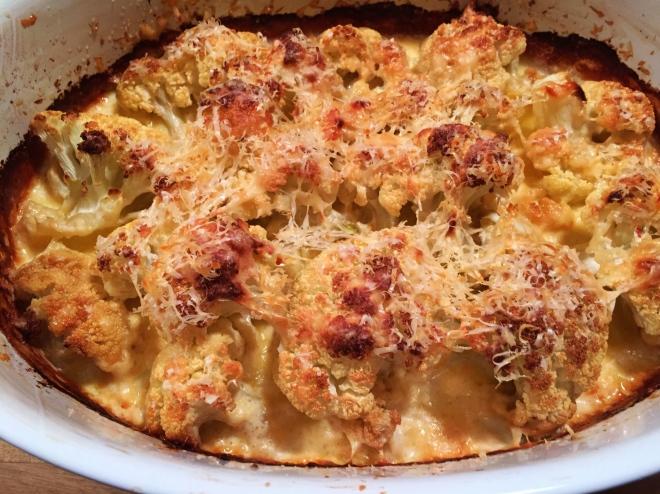 Toasty Cauliflower Cream and Cheese