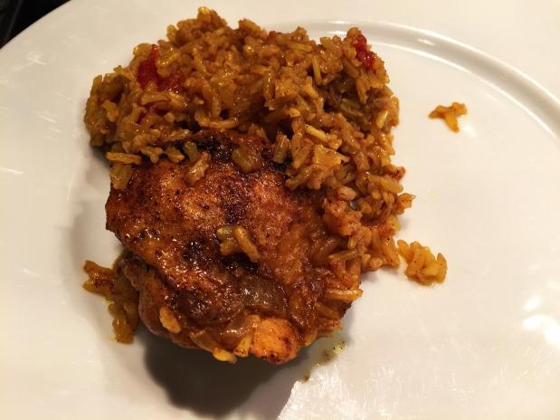 February – Turmeric Chicken andRice