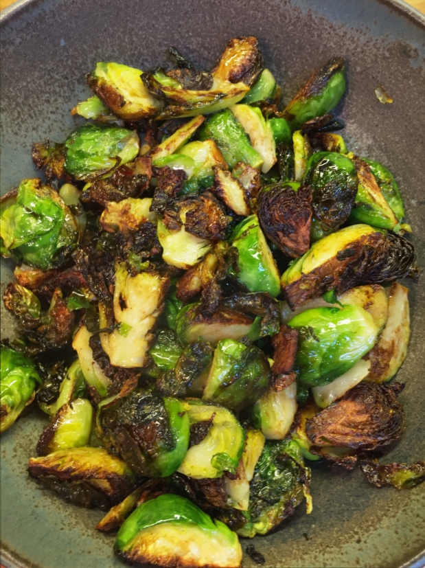 February – Crispy Fried Brussels Sprouts