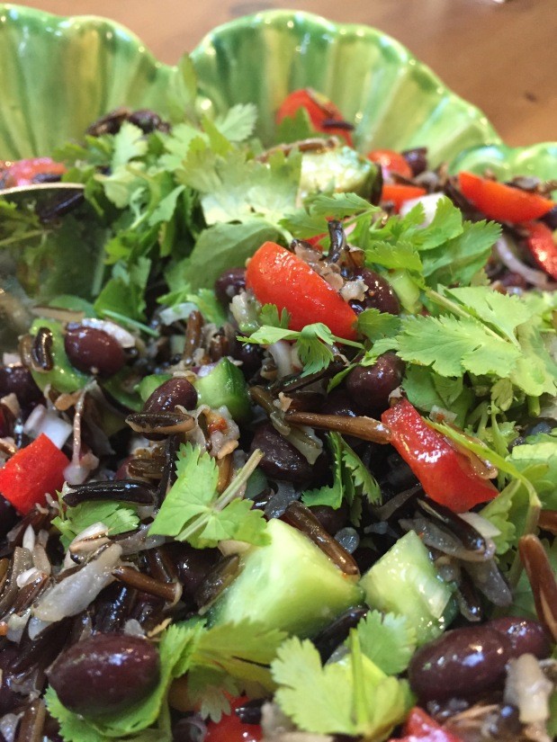 May – Wild Rice and Black Bean Salad