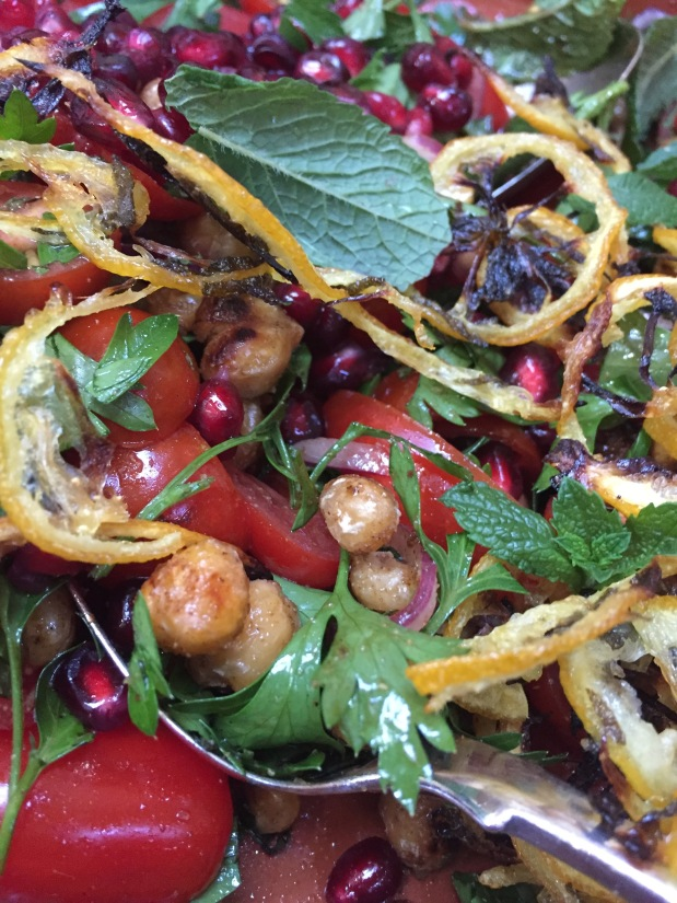 June – Tomato and Roasted Lemon Salad